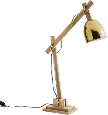 Wood and Wingnut Desk Lamp Contemporary image 3