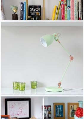 Retro Desk Task Lamp - Swedish Green image 3