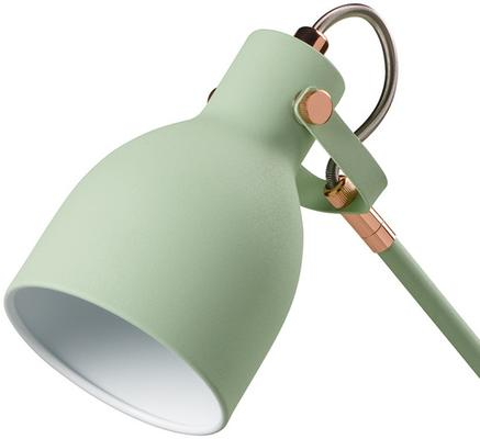 Retro Desk Task Lamp - Swedish Green image 4