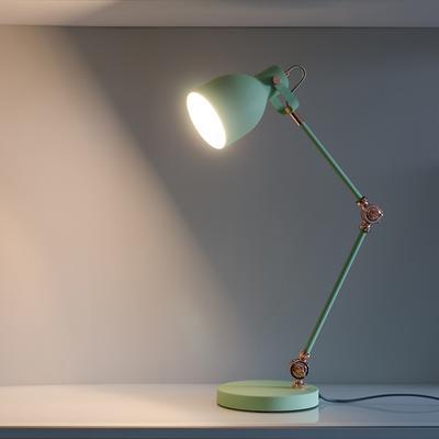 Retro Desk Task Lamp - Swedish Green image 5