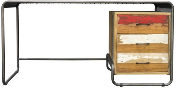 Brooklyn Finest Industrial Desk With Drawers image 3