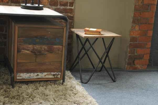 Brooklyn Finest Industrial Desk With Drawers image 4