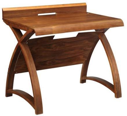 Jual Retro Wood Laptop Desk 90cm PC603 - Walnut