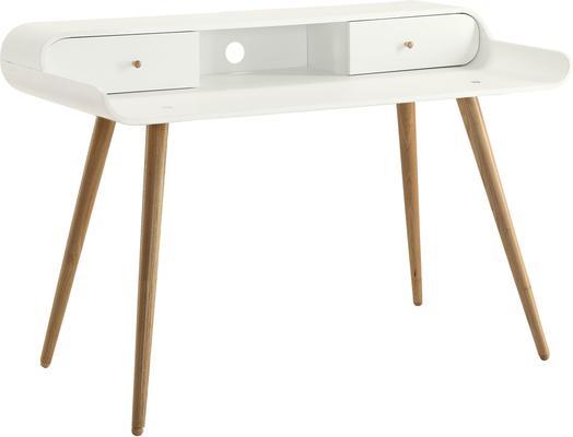 Jual Retro Laptop Desk - Ash or White image 4