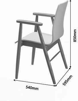 Jual Retro Tower Desk - Ash or White image 6