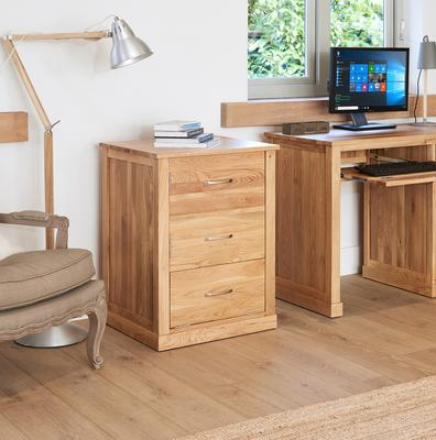 Mobel Solid Oak Modern Printer Cupboard image 2