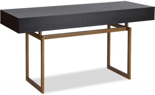 Hamilton Contemporary Desk Black Ash image 4