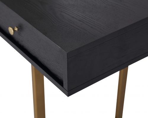 Hamilton Contemporary Desk Black Ash image 6