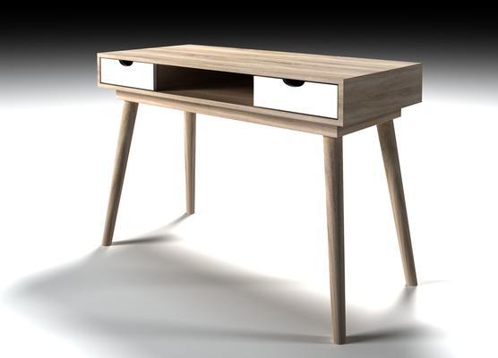 Scuna 2 drawer desk image 3