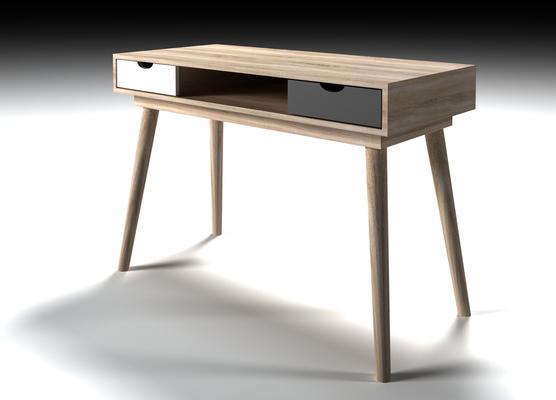 Scuna 2 drawer desk image 4