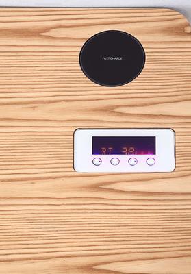 San Francisco Charging Oak Desk with Smart Speaker - PC709 image 5