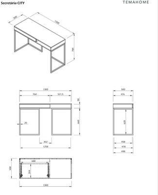 City desk image 11