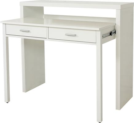 Console desk with drawers