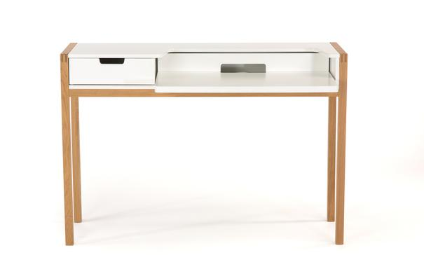 Farringdon laptop desk with drawer image 2