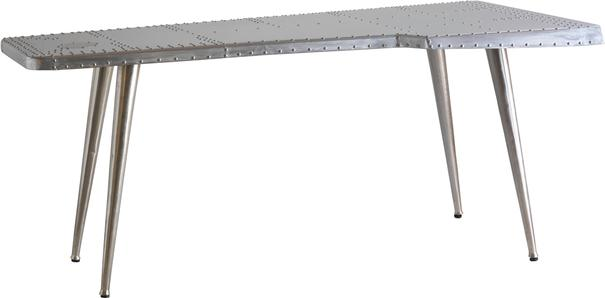 Aviator Metal Studded Desk