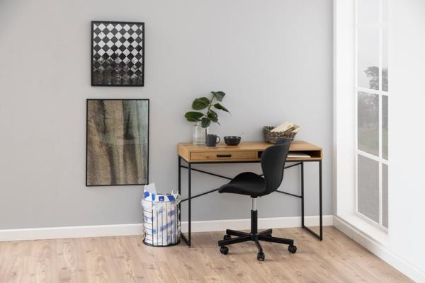 Seafor desk with drawer and shelf image 5