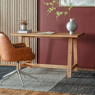 Kielder Solid Oak Desk image 2