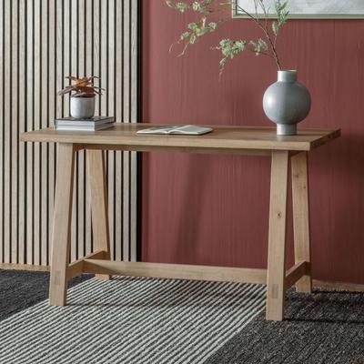 Kielder Solid Oak Desk image 6
