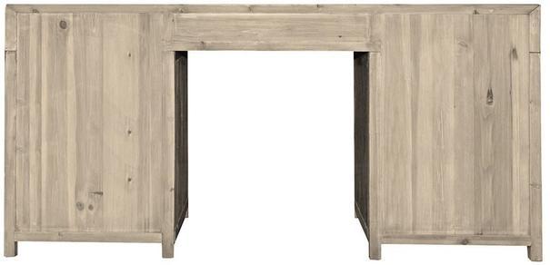 Large Twelve Drawer Natural Pine Desk image 2