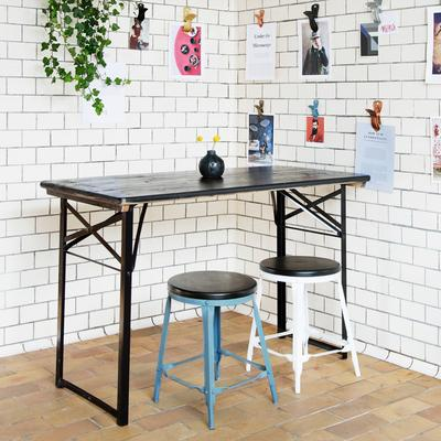 Folding Table and Bench Set Modern Design image 4