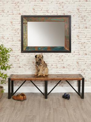 Shoreditch Rustic Dining Bench - Large image 2