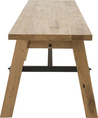 Stockhelm (Wild Oak) dining bench image 3