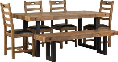 New York dining bench image 8