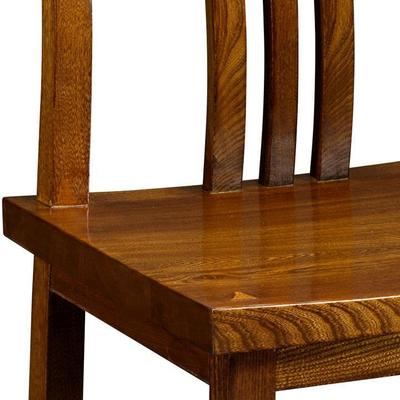 Elm Wood Dining Chair image 3