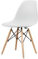 Eames-Style DSW Chair in White