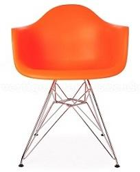 Eames-Style DAR Chair in Orange