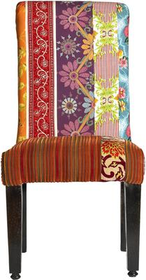 Patchwork Multicoloured Dining Chair