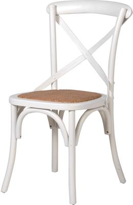 Simple Wooden Dinner Chair Distressed Finish image 4