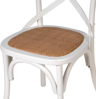 Simple Wooden Dinner Chair Distressed Finish image 6