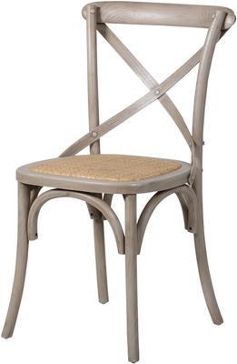 Simple Wooden Dinner Chair Distressed Finish image 10