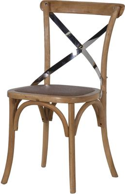 Simple Wooden Dinner Chair Distressed Finish image 14