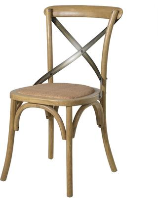 Simple Wooden Dinner Chair Distressed Finish image 16