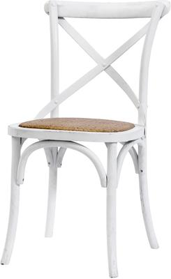 Simple Wooden Dinner Chair Distressed Finish image 18