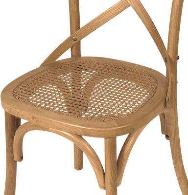 Simple Wooden Dinner Chair Distressed Finish image 22