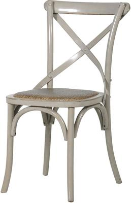 Simple Wooden Dinner Chair Distressed Finish image 23
