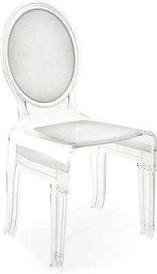 Acrylic Dining Chair Clear French-Style image 14