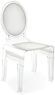 Acrylic Dining Chair Clear French-Style image 15