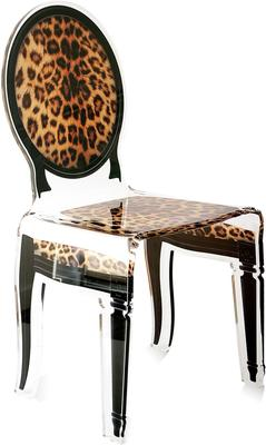 Acrylic Dining Chair Clear French-Style image 18