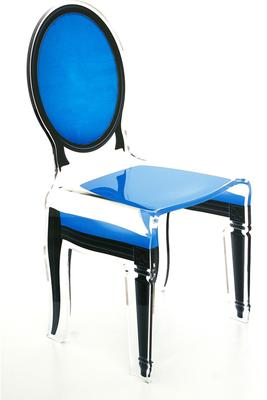 Acrylic Dining Chair Clear French-Style image 23