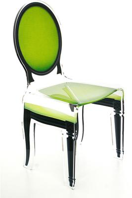 Acrylic Dining Chair Clear French-Style image 25