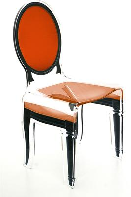 Acrylic Dining Chair Clear French-Style image 26
