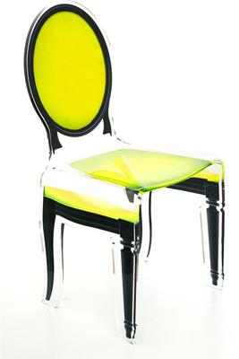 Acrylic Dining Chair Clear French-Style image 30