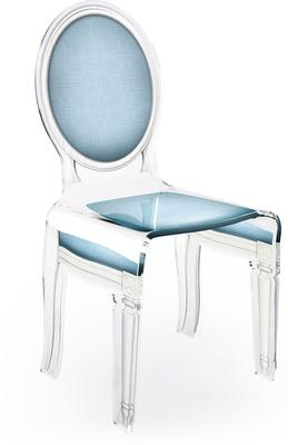 Acrylic Dining Chair Clear French-Style image 33
