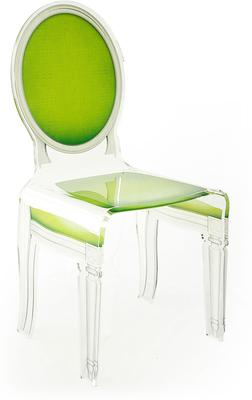 Acrylic Dining Chair Clear French-Style image 34