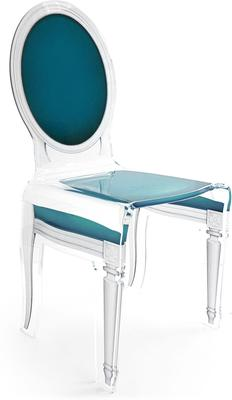 Acrylic Dining Chair Clear French-Style image 36