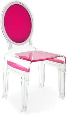 Acrylic Dining Chair Clear French-Style image 43